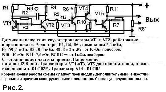 Электрическая схема сигналов ваз-2105